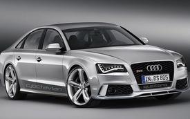 Audi RS8: Nước chiếu tướng dành cho S-Class AMG
