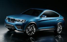 BMW X4 chính thức lộ diện