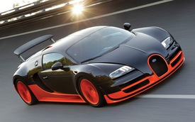 """Bugatti Veyron Super Sport bị tước danh hiệu """"Ông hoàng tốc độ"""""""