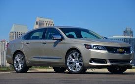 Chevrolet Impala 2014 bắt đầu đi vào sản xuất