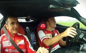 Fernando Alonso đánh võng cùng LaFerrari tại Fiorano