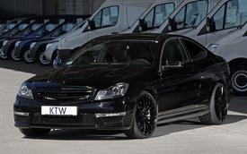KTW biến C63 AMG Coupe thành bản đặc biệt Black Series