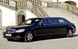Mercedes-Benz S600 Pullman Guard: Siêu an toàn, siêu sang