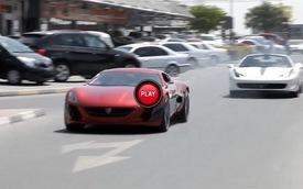 Siêu xe đến từ Croatia cho Ferrari 458 Spider hít khói