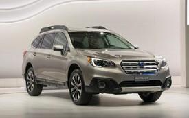 Subaru Outback 2015: Xe SUV mà tiết kiệm xăng