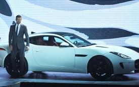 David Beckham giới thiệu Jaguar F-Type Coupe tại triển lãm Bắc Kinh