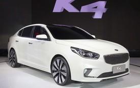 Kia giới thiệu xe sedan K4 mới