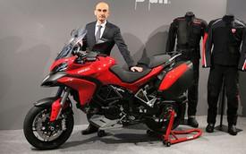 Đã có giá bán của môtô đầu tiên được hỗ trợ túi khí