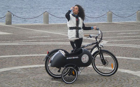 """Beach Vintage Side - Xe đạp mang phong cách """"xít-đờ-ca"""""""