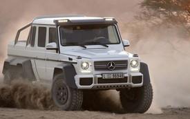 """Mercedes-Benz G63 AMG 6 bánh sẽ tham gia """"Công Viên Kỷ Jura"""" mới"""
