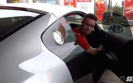 Anh chàng 23 tuổi phá siêu xe Audi R8 trong lần đầu đổ xăng