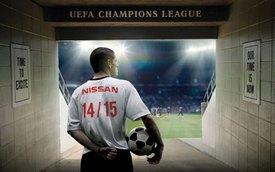 Nissan chính thức tài trợ giải bóng đá UEFA Champions League