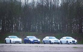 Video: BMW M5 thành người hùng trong gang tấc