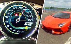 Video: Vi vu 285 km/h cùng Lamborghini LP700-4 Aventador