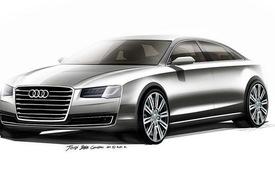 Audi chính thức hé lộ hình ảnh A8 mới