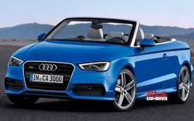 Audi A3 Cabriolet bất ngờ lộ diện