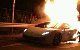 "Lamborghini Gallardo LP560-4 lại ""hóa đuốc"" tại Trung Quốc"