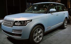 Land Rover trình làng cặp đôi xe hybrid mới tại Frankfurt