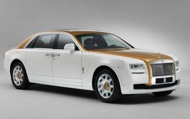 Rolls-Royce giới thiệu Ghost phiên bản vàng nguyên chất