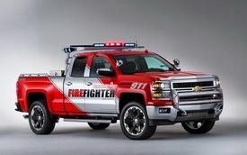 """""""Lính cứu hỏa"""" Chevrolet Silverado đặc biệt"""