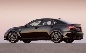 Đã có giá bán của Lexus IS F 2014