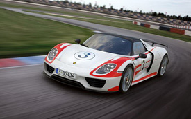 Siêu xe Porsche 918 Spyder và những con số ấn tượng