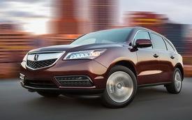 Acura MDX và RDX đạt điểm an toàn tối đa