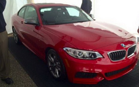BMW M235i Coupe bất ngờ xuất hiện
