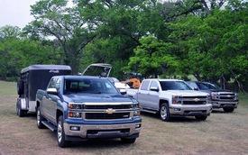 GM tăng giá hai xe bán tải cỡ lớn