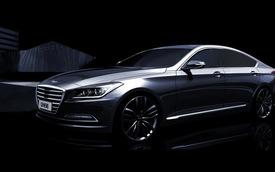 Hình ảnh chính thức của Hyundai Genesis Sedan thế hệ mới