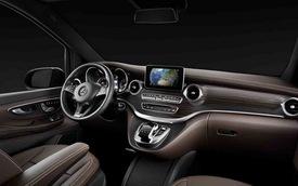 Chiêm ngưỡng nội thất của Mercedes-Benz V-Class mới