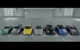 Dàn đồng ca Porsche 911 hát mừng sinh nhật
