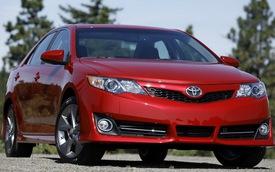 Toyota Camry, Avalon và Venza đồng loạt bị thu hồi