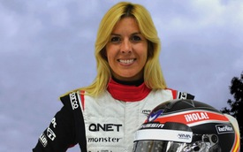 Nữ tay lái thử xe Maria de Villota tử vong