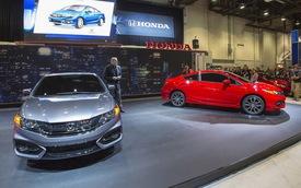 Honda Civic 2014: Nâng cấp hàng loạt