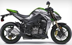 Hàng nóng Kawasaki Z1000 2014 chính thức trình làng