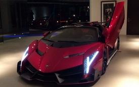 Lamborghini Veneno Roadster lần đầu tiên trình diện