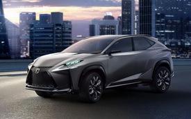 Lexus sắp giới thiệu LF-NX mạnh mẽ hơn