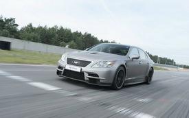 Siêu sedan Lexus LS650 chưa thể đi vào sản xuất ngay