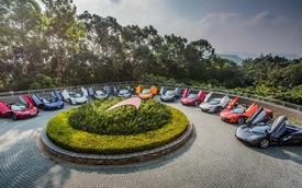 McLaren tổ chức sinh nhật hoành tráng tại Hồng Kông