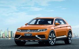 Volkswagen CrossBlue Coupe - Xe SUV siêu tiết kiệm nhiên liệu