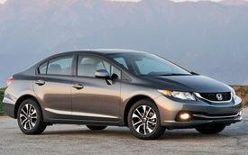 Honda Civic - sedan cỡ nhỏ bán chạy nhất tại Mỹ