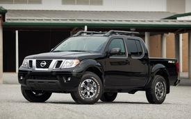 Nissan công bố giá bán của Frontier và Xterra 2015