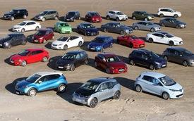 """Siêu xe và xe siêu sang bị loại khỏi danh sách ứng viên """"Xe của năm"""" tại châu Âu"""