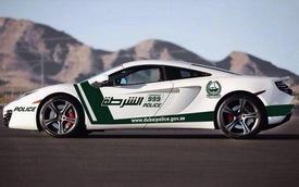 Lực lượng Cảnh sát Dubai kết nạp thêm McLaren 12C