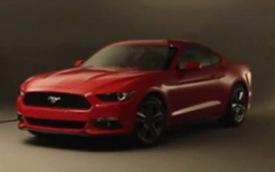 Ford Mustang thế hệ mới chính thức xuất hiện