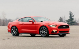 Ford Mustang thế hệ mới hiện nguyên hình trước giờ G