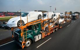 Xuất khẩu ô tô của Mỹ lập kỷ lục trong năm 2013