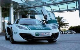 Cảnh sát Dubai khoe siêu xe McLaren 12C