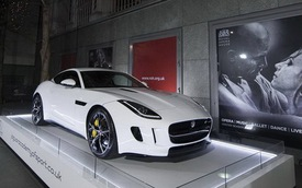 Jaguar F-Type Coupe: Xuất hiện tại Học viện Thể thao Jaguar